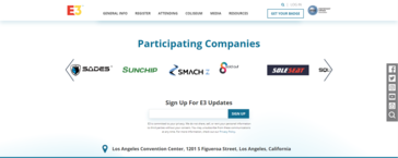 Smach Z is on the participating companies list at E3 2019; so that is a start.