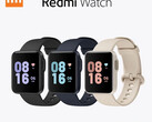 The Redmi Watch is available from third-party retailers in three colours. (Image source: Xiaomi)