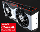 This may well prove to be the reference design for the RX 6700 series. (Image source: JayzTwoCents & Andreas Schilling)