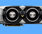 The RTX 2080 founders' edition is rumored to come with a dual-cooler setup. (Source: Videocardz)
