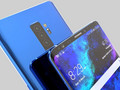 Samsung Galaxy S10 concept render with tri-camera setup on the back