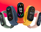 The Xiaomi Mi Smart Band 6 has a much larger display than its predecessor. (Image source: Xiaomi)