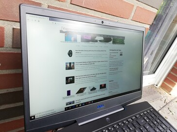 Dell G3 15 - Outdoor use