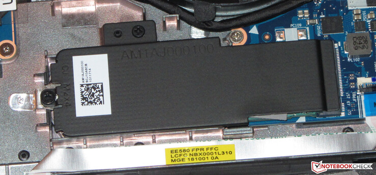 The main system drive is an NVMe SSD.
