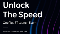 "OnePlus has been using the slogans ""Unlock the Speed"" and ""Touch the Innovation"" for the 6T. (Source: OnePlus)"