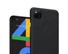 "The Pixel 4a seemingly in ""Just Black"". (Image source: Google Canada)"