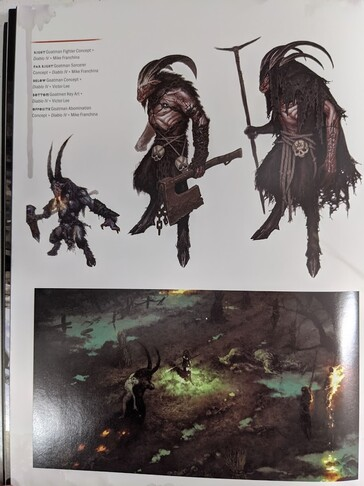 Goatmen above possible game screenshot. (Image source: Resetera - Strakt)