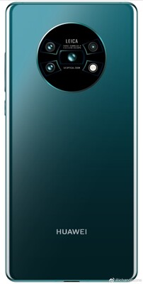 Full back side render of the Mate 30 (Source: Weibo)