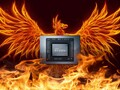 It has been rumored that AMD's Ryzen 7000 Zen 4-based series will be called Phoenix. (Image source: AMD/TowardsDataScience - edited)