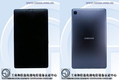 The Galaxy Tab A7 Lite will have a 5,100 mAh battery. (Image source: TENAA)