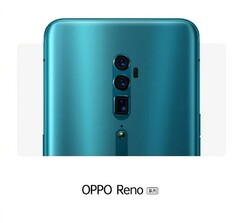The OPPO Reno's possible rear cameras. (Source: GizmoChina)