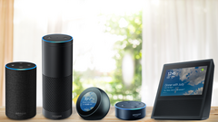 The Amazon smart-speaker family includes the Echo, Plus, Spot, Dot, and Show devices. (Source: PCMag)
