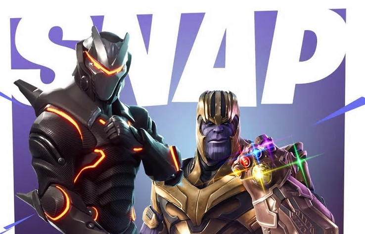 Thanos is coming to Fortnite. (Source: Kotaku via Entertainment Weekly)