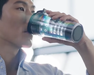 Smart coffee cup featuring flexible display technology (Source: Samsung Display)