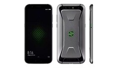 The latest version of the Xiaomi Black Shark has an RGB logo and the SD 855's predecessor. (Source: Digit)