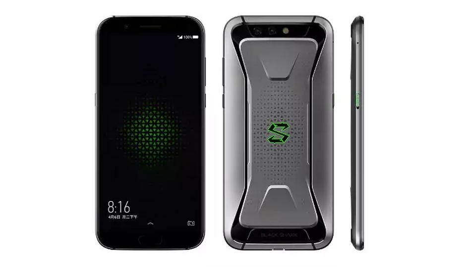 4d3afcb36ab The latest version of the Xiaomi Black Shark has an RGB logo and the SD  855 s