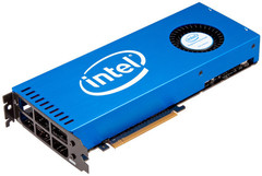 Xeon Phi, based on the Larrabee project, was the most recent attempt by Intel to get into the discrete GPU market; while it made it to market, it made little impact. (Source: PCWorld)