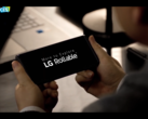 An early look at the LG Rollable. (Source: YouTube)