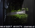 Nvidia's MSRPs for the GeForce RTX 3060 are US$329/€329/£299. (Image source: Nvidia - edited)