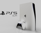 The PS5 Slim, as imagined by Concept Creator and LetsGoDigital. (Image source: LetsGoDigital & Concept Creator)