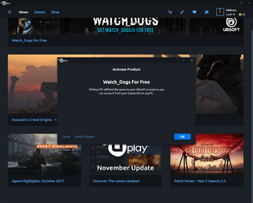 Activating Watch Dogs for free in Uplay (Source: own)