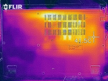 Heat development stress test (bottom)