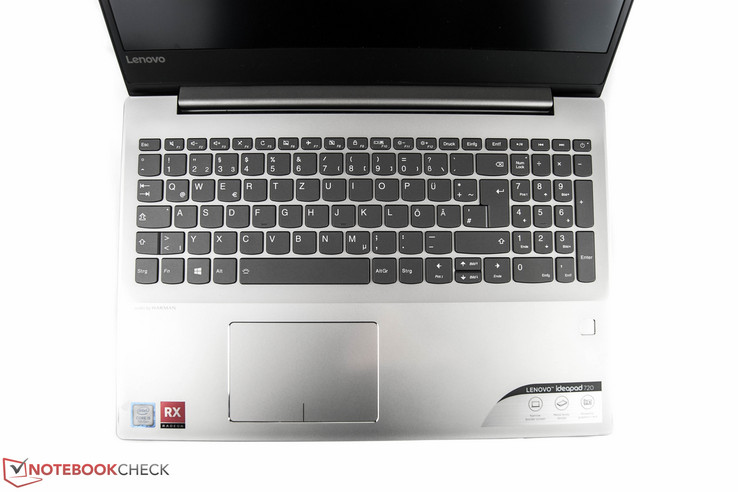 IdeaPad 720 keyboard deck