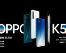 The OPPO K5 is now official. (Source: OPPO)