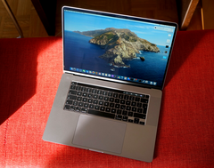 The MacBook Pro 16: A triumphant return for Apple? (Image source: Notebookcheck)