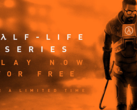 The entire Half-Life series is available to download on Steam for free till March. (Source: Valve)