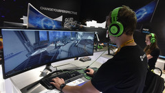 Gaming monitors have become the fastest-growing PC accessory as of H1 2017 (Source: GfK)