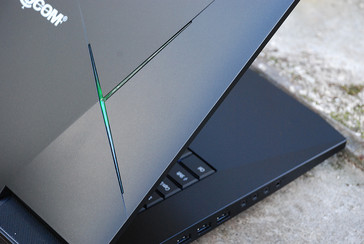 Eurocom Sky X9E3 VR Ready high-end laptop closeup