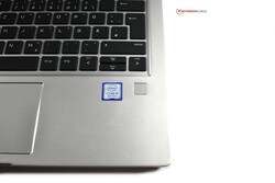 A look at the ProBook 430 G6's fingerprint reader