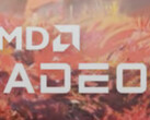 The new AMD RX Radeon logo, as seen in the Godfall trailer (Image source: Overclock3D)