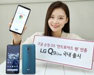 LG Q9 One Android handset with Qualcomm Snapdragon 835 (Source: LG South Korea)