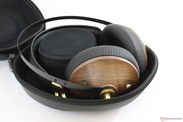 Be prepared to bring the case with you wherever you go since the headphones are not collapsible