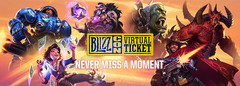 Asus ROG, Nvidia, and Corsair will be giving away tickets for BlizzCon 2018 (Source: Blizzard)