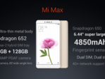 The original Mi Max. Its successor probably won't look much different. (Source: Android Pure)