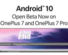 The OnePlus 7 series has an Android 10 beta already. (Source: OnePlus)