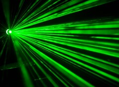 Invisible light beams can be used to transmit and receive data at 20 Gbps+ speeds. (image Source: TeleGeography)