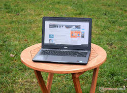 Outdoor use Dell Inspiron 15 5000 (cloudy)