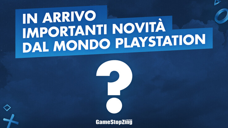 """Important news coming soon from the world of PlayStation"". (Image source: @GameStopItalia)"