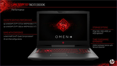 HP refreshes Omen 15 and Omen 17 with Kaby Lake and AMD FX 580 graphics
