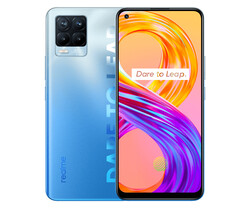 On test: realme 8 Pro. Test device provided by realme Germany.