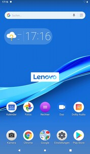 Software of the Lenovo Tab M7 Tablet
