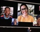 Tim Cook introduces Group Face Time. (Source: Ars Technica)