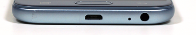 Lower edge: Micro-USB, microphone, 3.5-mm headset jack