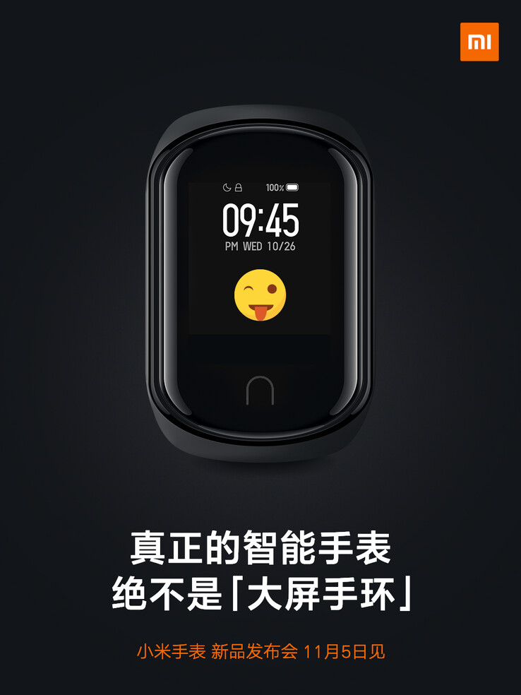 This may be what the new Mi Watch looks like. (Source: Weibo)