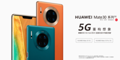 The Huawei Mate 30 5G variants. (Source: Huawei)