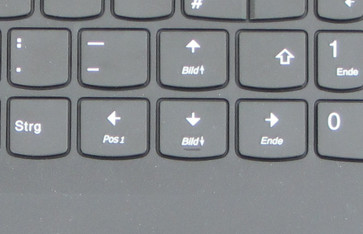 arrow keys Lenovo V510-15IKB